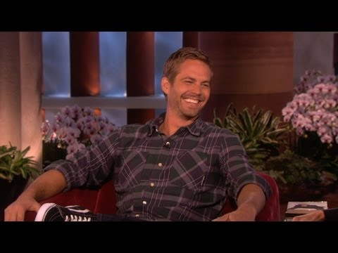 Ellen On Paul Walker - Smashpipe Film