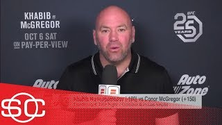 Dana White reacts to Conor-Khabib press conference: 'Darkest' he's been part of | SC | ESPN