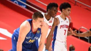 Denver Nuggets vs Detroit Pistons Full Game Highlights | May 14 | 2021 NBA Season