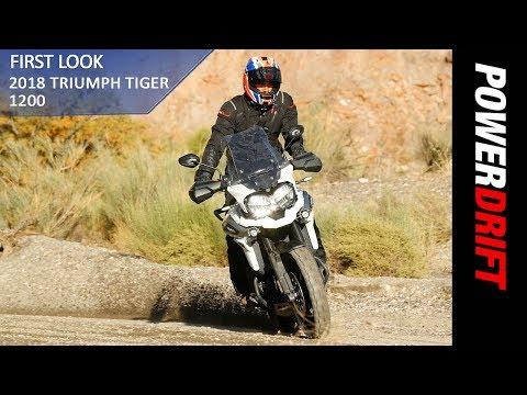 2018 Triumph Tiger 1200 : First Ride : PowerDrift