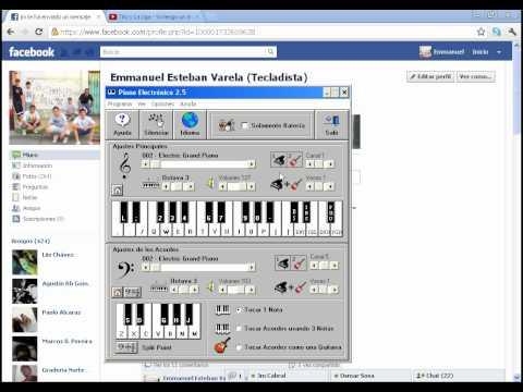 YO TENGO UN ANGEL-LA LIGA PIANO ELECTRONICO 2.5 (ACORDES Y PUNTEO)