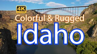 Colorful & Rugged IDAHO - a 4K Travel Guide