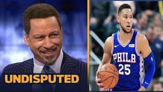 UNDISPUTED | Chris Broussard report Ben Simmons agrees to 5-year$170M max extension with 76ers