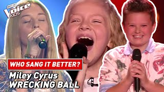 """Who sang Miley Cyrus' """"Wrecking Ball"""" better? 