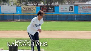 KUWTK | Kris Jenner Is at Bat--What Could Go Wrong? | E!
