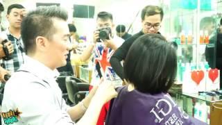 [8VBIZ] - Đàm Vĩnh Hưng cắt tóc cho Hà Trinh, tiết lộ chuyện thâm cung bí sử