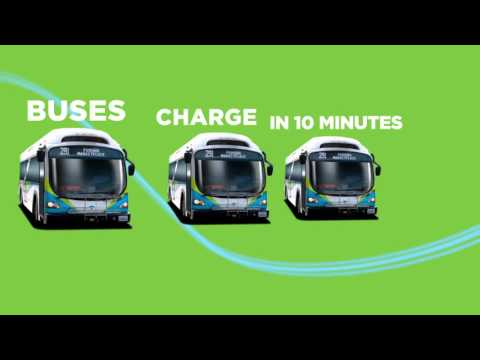 buses charge in 10 minutes