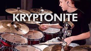 Kryptonite - 3 Doors Down (Drum Cover) Avery Drummer