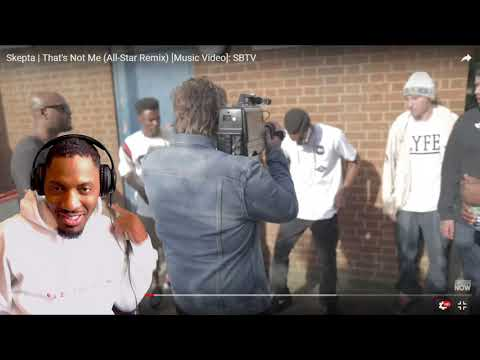 Skepta | That's Not Me (All-Star Remix) [Music Video]: SBTV | REACTION