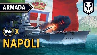 Armada: Italian Cruiser Napoli   World of Warships