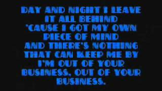 Raluka - Out Of Your Business (Audio + Lyrics)
