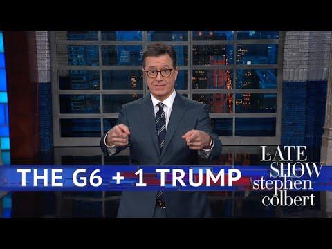 Trump Makes The G7 Summit Awkwaaaard