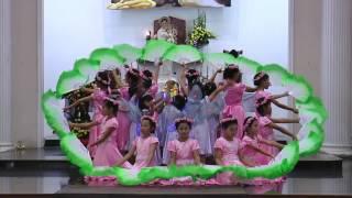 Giáo xứ Bùi Môn khai mạc tháng hoa 2017