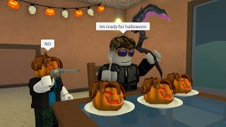 ROBLOX Murder Mystery 2 FUNNY MOMENTS (HALLOWEEN)