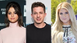 Charlie Puth Nearly PUKES & Is Forced To Choose Selena Gomez Or Meghan Trainor