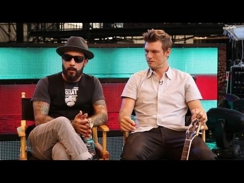 AJ McLean and Nick Carter on Growing Up in the Band