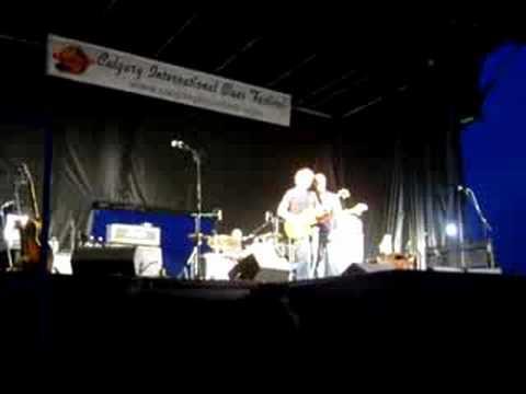Calgary Blues Festival 2008 - Savoy Brown Hellbound Train intro