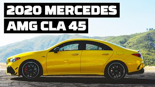 2020 Mercedes-AMG CLA45 at Willow Springs! | Tire Rack's Hot Lap | MotorTrend