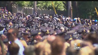 Thousands Of Officers Honor Slain Weymouth Sgt. Michael Chesna