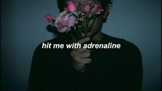 adrenaline // simple creatures lyrics