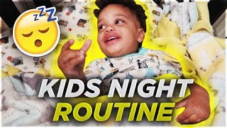 THE KIDS NIGHT ROUTINE | THE PRINCE FAMILY