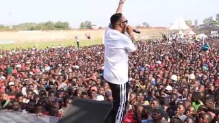 Rich Mavoko Perfomed At Mwanza Komaa Concert