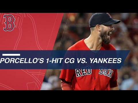 Porcello tosses complete game 1-hitter