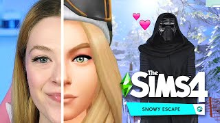 Let's Play And Review The Sims 4 Snowy Escape | Kelsey Impicciche