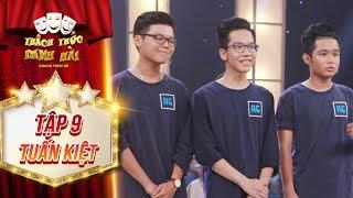 Thách thức danh hài 4 | tập 9: Ba chàng bạn thân chạy xe 3 phút 30 giây khiến Trấn Thành phì cười