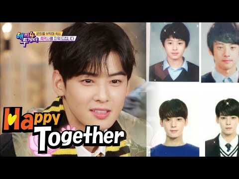 The Staff Only Found Photos that Proved Cha Eun Woo's Good Looks! [Happy Together Ep 567]