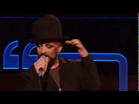 Boy George Bigger Than War Talks Music 2013