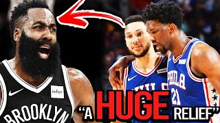 NBA Players REACT to ROCKETS Trading JAMES HARDEN to THE BROOKLYN NETS ft(Ben Simmons, Kevin Durant)