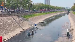 Dự án tài trợ thí điểm làm sạch một đoạn sông Tô Lịch