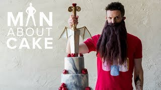 (*NOT) Game of Thrones Dragon Cake 👑 | Man About Cake with Joshua John Russell