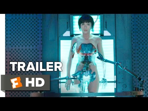 Ghost in the Shell Official Trailer 1 (2017)