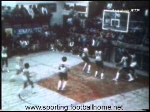 Basquetebol :: Barreirense - 82 x Sporting - 85  de 1981/1982