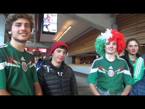 Mexico vs Canada en Vancouver BC