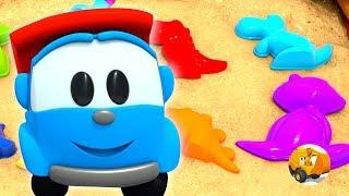 Leo el Pequeño Camión  - Colores en español - Videos para niños