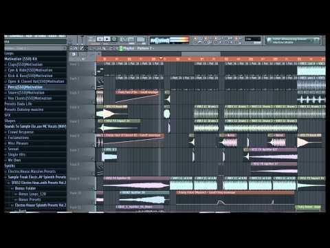 Free Big Room Track (Fl studio) Free FLP + Samples