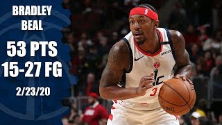 Bradley Beal drops career-high 53 points in The Chi | 2019-20 NBA Highlights