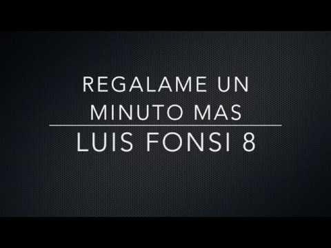 Regálame Un Minuto Más (Album Version)