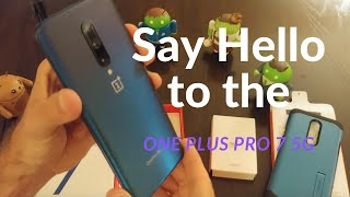 Unboxing and first impressions of the One Plus Pro 7 5G from Sprint
