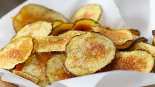 Easy Microwave Potato Chips