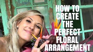 Arranging Florals   Handpicked Flower Arrangment   How To Arrange Flowers   Coco Lux Travel   Bali
