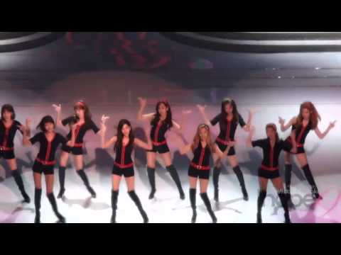 SNSD magical choreography of HOOT