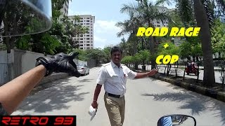 ROAD RAGE - HELPING A COP !!!