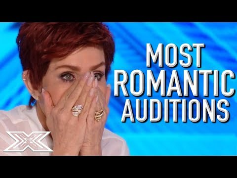 MOST ROMANTIC Auditions on The X Factor!   X Factor Global