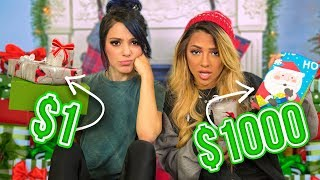Twins Guess Cheap VS Expensive Christmas Gifts! 🎁  Niki and Gabi