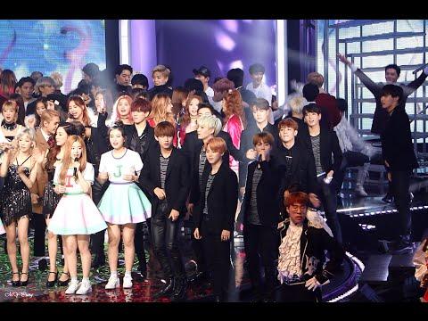 151231 MBC 가요대제전 Gayo Daejejeon - 방탄소년단 BTS - V dance with dancer