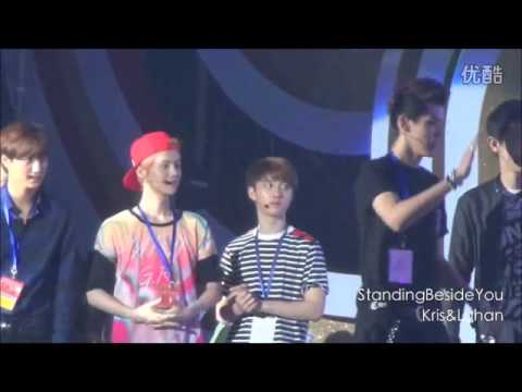 130628 China Korea Friendship Concert (ChanBaek moment)